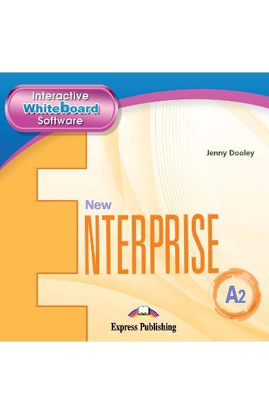 CURS LB. ENGLEZA NEW ENTERPRISE A2 IWB 978-1-4715-6976-0