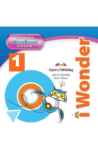 CURS LB. ENGLEZA I-WONDER 1 SOFTWARE PENTRU TABLA MAGNETICA INTERACTIVA 978-1-4715-7016-2