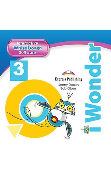 CURS LB. ENGLEZA I-WONDER 3 SOFTWARE PENTRU TABLA MAGNETICA INTERACTIVA 978-1-4715-7042-1