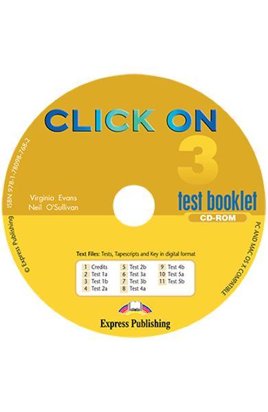 Curs limba engleza Click On 3 CD-ROM cu teste 978-1-78098-768-2