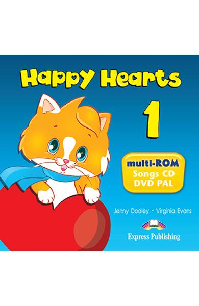CURS LB. ENGLEZA HAPPY HEARTS 1 MULTI-ROM 978-1-78098-819-1