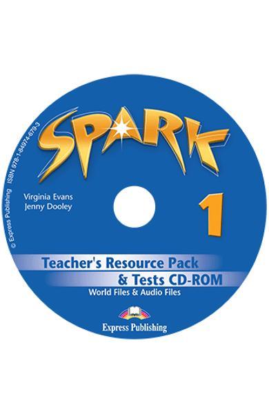Curs limba engleza Spark 1 Monstertrackers Material aditional pentru profesor si teste CD-ROM 978-1-84974-679-3
