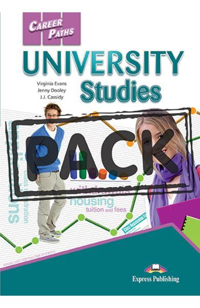 CURS LB. ENGLEZA CAREER PATHS UNIVERSITY STUDIES PACHETUL PROFESORULUI ( MANUAL ELEV + GHIDUL PROFESORULUI +  CROSS-PLATFORM APP) 978-1-4715-4554-2