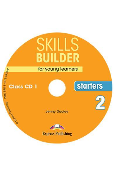 CURS LB. ENGLEZA SKILLS BUILDER STARTERS 2 AUDIO CD ( SET 2 CD-URI ) (REVIZUIT 2018) 978-1-4715-5937-2