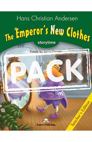 LITERATURA ADAPTATA PT. COPII THE EMPEROR S NEW CLOTHES MANUALUL PROFESORULUI CU CROSS-PLATFORM APP. 978-1-4715-6420-8