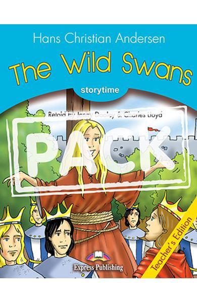 LITERATURA ADAPTATA PT. COPII THE WILD SWANS MANUALUL PROFESORULUI CU DIGIBOOK APP. 978-1-4715-6440-6