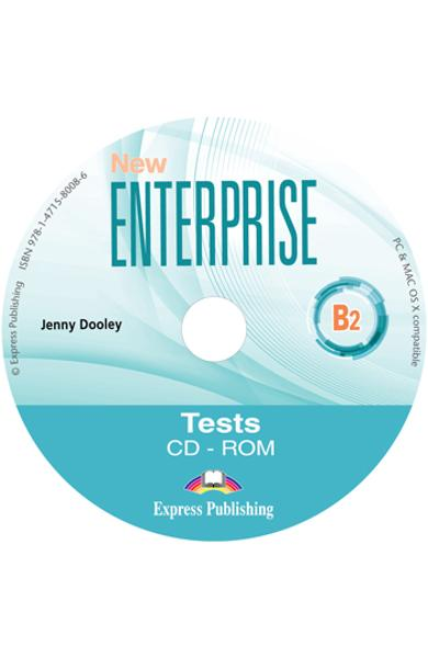 CURS LB. ENGLEZA NEW ENTERPRISE B2 TESTE CD-ROM 978-1-4715-8008-6