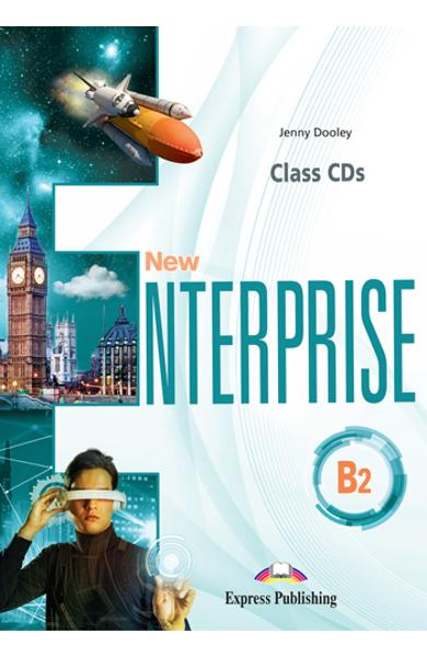 CURS LB. ENGLEZA NEW ENTERPRISE B2 AUDIO CD LA MANUAL ( SET DE 4 CD-URI ) 978-1-4715-8009-3
