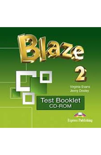 CURS LB. ENGLEZA BLAZE 2 TEST BOOKLET CD-ROM 978-1-4715-4259-6