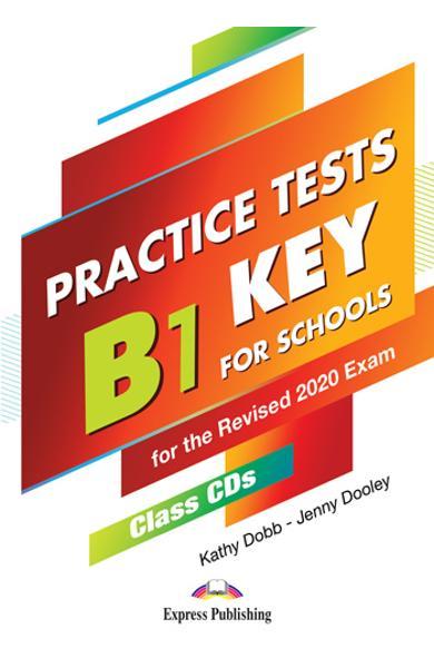 Curs limba engleza examen Cambridge B1 Preliminary for Schools Practice Tests Audio CD la manual (set de 5 CD-uri) (revizuit 2020) 978-1-4715-8683-5