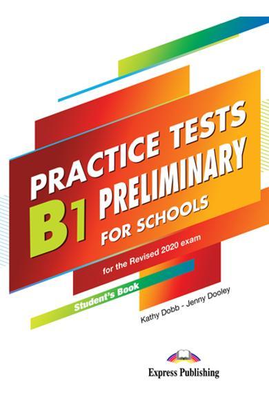 Curs limba engleza examen Cambridge B1 Preliminary for Schools Practice Tests Manualul elevului cu Digibooks App. (revizuit 2020) 978-1-4715-8689-7