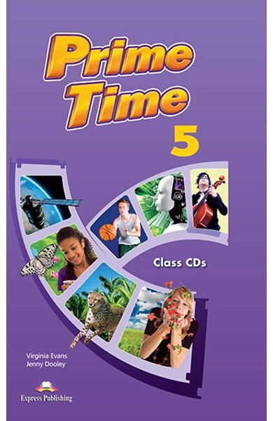 CURS LB. ENGLEZA PRIME TIME 5 AUDIO CD MANUAL (SET DE 8 CD-URI) 978-1-4715-0795-3