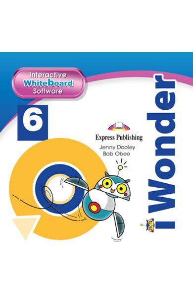 CURS LB. ENGLEZA I-WONDER 6 SOFTWARE PENTRU TABLA MAGNETICA INTERACTIVA 978-1-4715-8917-1
