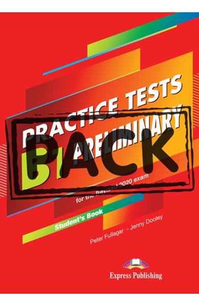 Curs limba engleza examen Cambridge B1 Preliminary Practice Tests for the Revised 2020 Exam Manualul elevului + Digibooks App. 978-1-4715-8969-0