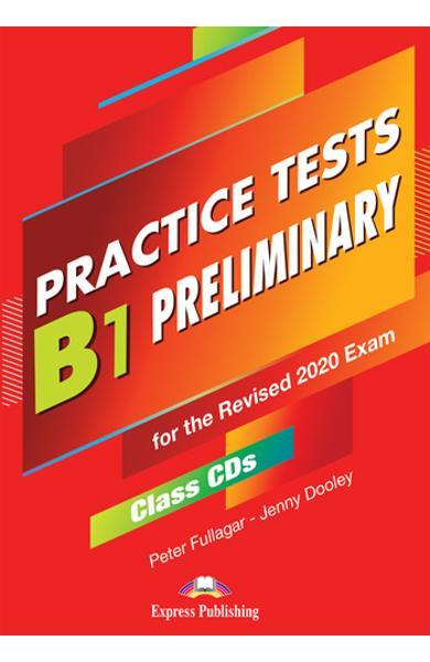 Curs limba engleza examen Cambridge B1 Preliminary Practice Tests for the Revised 2020 Exam Audio CD la manual ( set de 5 CD-uri ) 978-1-4715-8965-2