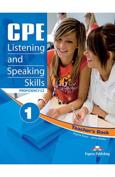 CURS LB. ENGLEZA EXAMEN CAMBRIDGE CPE LISTENING AND SPEAKING SKILLS 1 MANUALUL PROFESORULUI CU DIGIBOOKS APP. (REVIZUIT 2012) OVERPRINTED 978-1-4715-7587-7