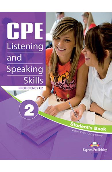 CURS LB. ENGLEZA EXAMEN CAMBRIDGE CPE LISTENING AND SPEAKING SKILLS 2 MANUALUL ELEVULUI CU DIGIBOOKS APP. (REVIZUIT 2012) 978-1-4715-7588-4