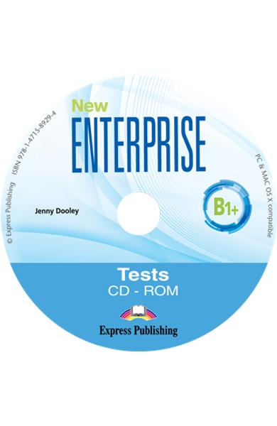 CURS LB. ENGLEZA NEW ENTERPRISE B1+ TESTE CD-ROM 978-1-4715-8929-4