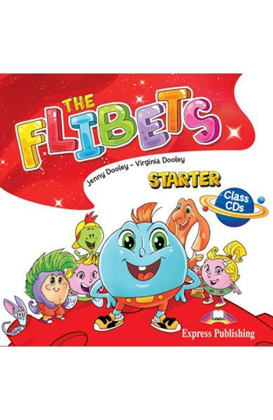 CURS LB. ENGLEZA THE FLIBETS STARTER AUDIO CD MANUAL (SET OF 2) 978-1-4715-8936-2