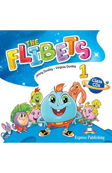 CURS LB. ENGLEZA THE FLIBETS 1 AUDIO CD MANUAL ( SET DE 2 CD-URI ) 978-1-4715-8943-0