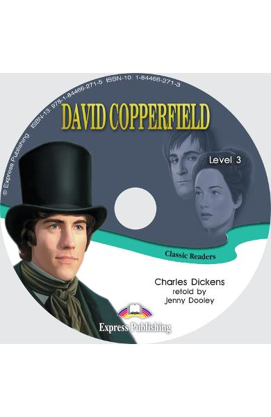 LITERATURA ADAPTATA PT. COPII DAVID COPPERFIELD SET CU AUDIO CD ( CARTE + AUDIO CD ) 978-1-84466-478-8