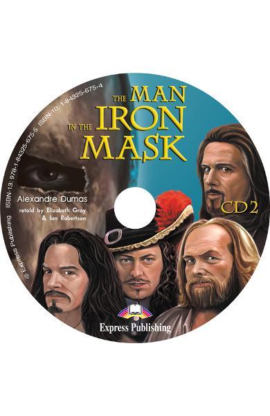LITERATURA ADAPTATA PT. COPII THE MAN IN THE IRON MASK PACHET ELEV ( CARTE + AUDIO CD + CAIET DE ACTIVITATI ) 978-1-84325-924-4